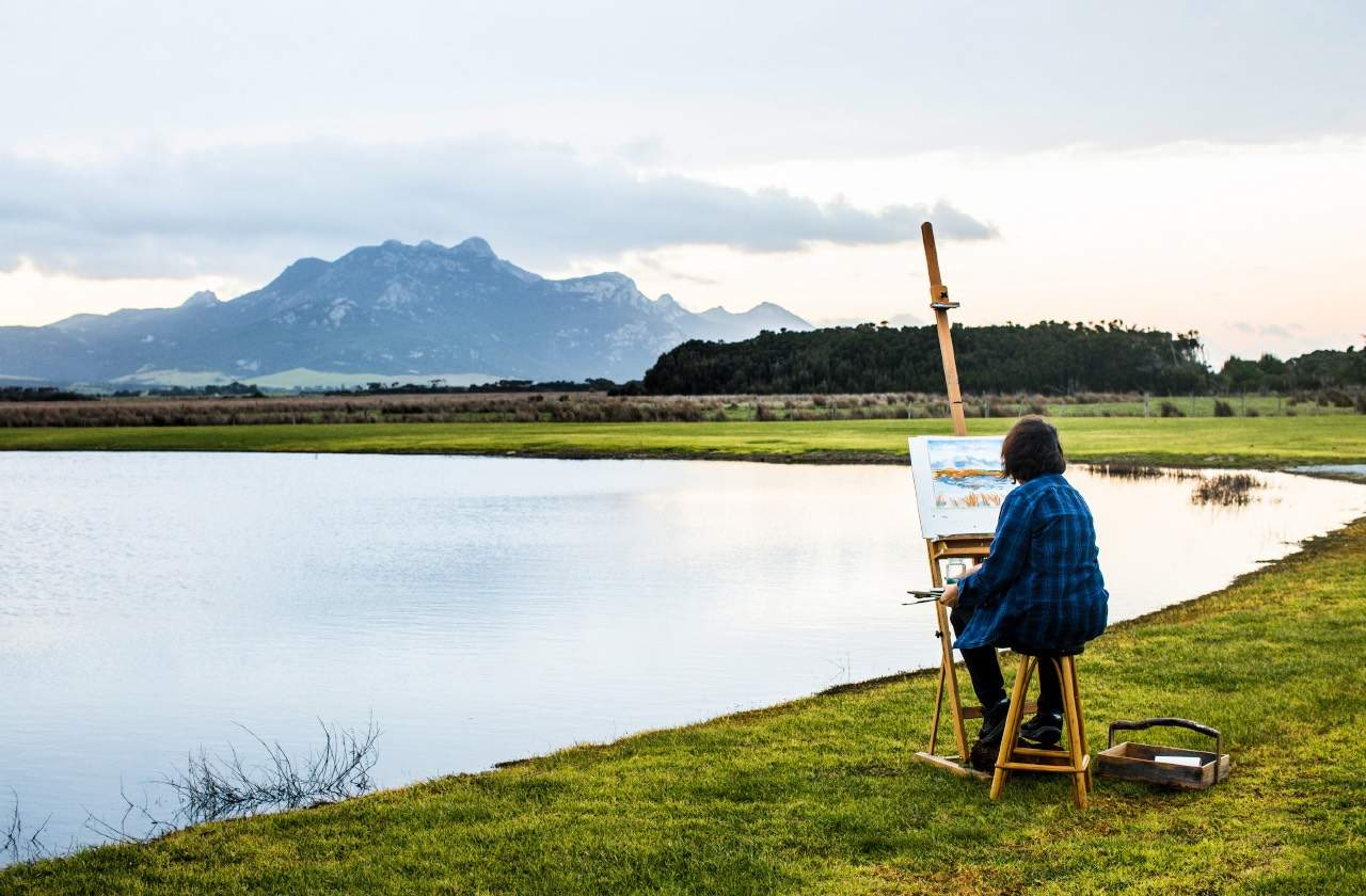 flinders island art and artists