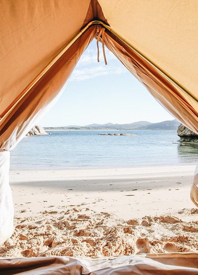 flinders island camping
