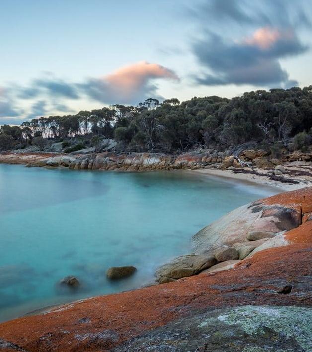 explore flinders island beaches
